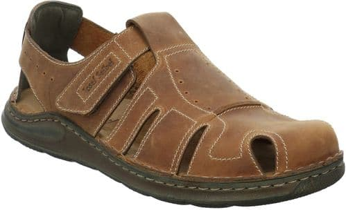 Josef Seibel Maverick 01 Sandal Mens Summer Brown